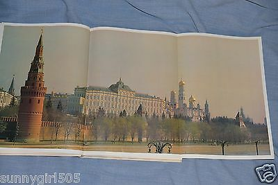 Book - album big Kremlin Palace in Moscow USSR