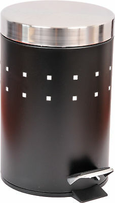Evideco Perforated 0.8 Gallon Step On Trash Can