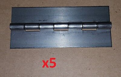 """2 pc .075 Stainless Steel Piano Hinge 18 x 2/"""" Heavy Door//Boat Continuous 250 Pin"""