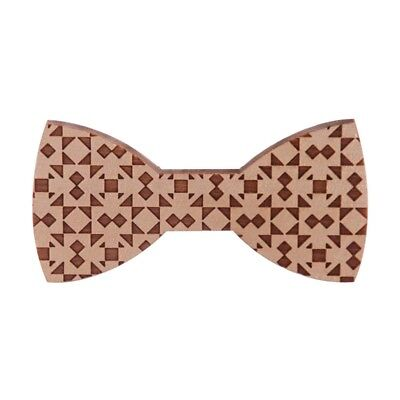 Wood Bow Ties For Men Wooden Mens for Wedding Party Yarn Butterfly Design NeM3X3
