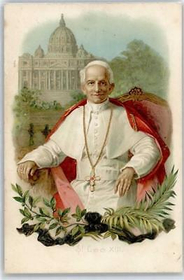 51141121 - Leo XIII  Papst Lithographie