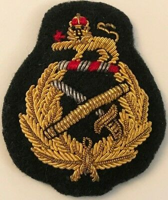Canadian Forces Bullion Embroidered General Officer's (Padded) Beret Badge #4949