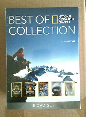 New Sealed National Geographic Channel Best of Collection Volume One 5 DVD Set
