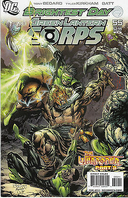 GREEN LANTERN CORPS 55...2011...VF/NM...Tony Bedard...Bargain!