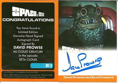 Unstoppable Cards David Prowse Autograph Card Dp2 Space 1999 Series 2 Card B