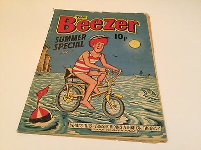 Beezer Summer Special Raleigh Chopper Cover