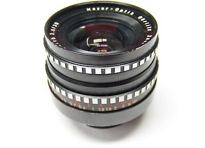 EXAKTA FIT MEYER-OPTIK GORLITZ f3.5 30mm LYDITH WIDE ANGLE LENS