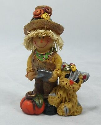 Yorkshire Terrier Yorkie Thanksgiving Autumn Fall Scarecrow Pal Pup Halloween