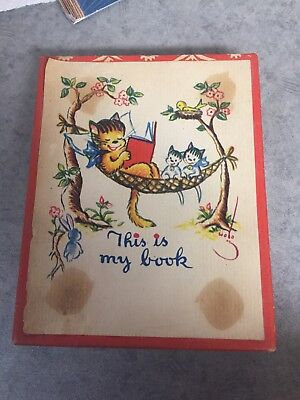 Wolo BOOKPLATES - Cat / Kitten Reading Bookplate 48 Count