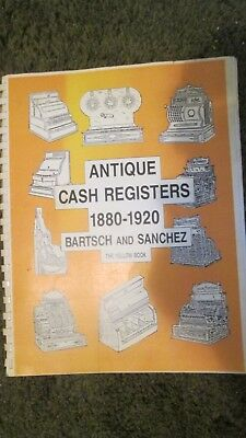 Antique Cash Registers 1880-1920.by Henry Bartsch. Perfect Pre-Owned Condition.