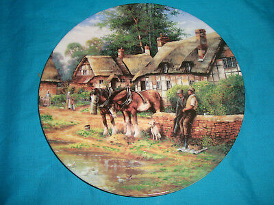 Wedgwood - Country Days - Lunch Break - Collector Plate