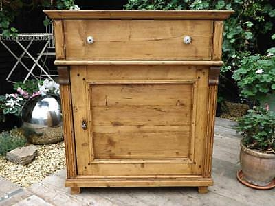 Superb Antique/ Old Pine Dresser Base/sideboard/cupboard/cabinet. We Deliver!