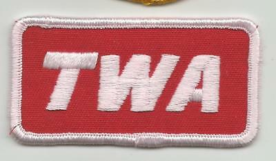 Embroidered TWA patch