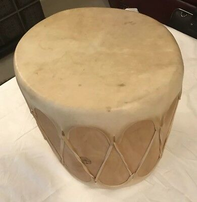 Leather And Wood Native Indian Drum
