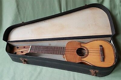 Antique Spanish Ukulele by Salvador Ibanez, Valencia