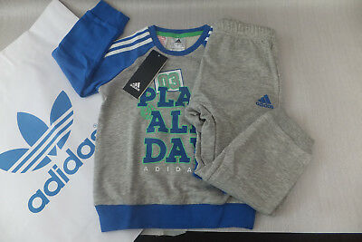 Adidas Infant Graphic French Terry Jogger TrackSuit Boys Children Kids - DJ1573