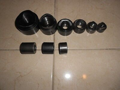 "Greenlee Knock Out Punches 2  To 1/2"" With Greenlee  Spacers"