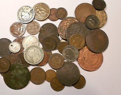portugal lot of 42 coins - good lot