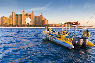 90mins Yellow Boats Tour  - Entertainer Dubai 2018  (Personally recommend this!)