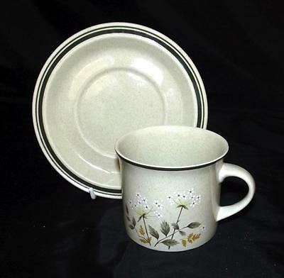 Royal Doulton Will of the Wisp LS1023 Pattern Cup & Saucer Lambethware Ironstone