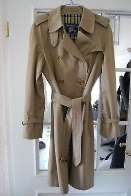 BURBERRY TRENCHCOAT ORIGINAL Damen Mantel Größe 40 UK 12