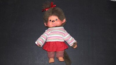 Monchhichi Sekiguchi small doll with clothing