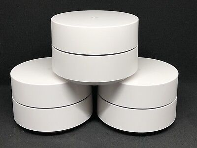 Google WiFi 3 Pack - whole home fast mesh wi-fi network - router + satellites