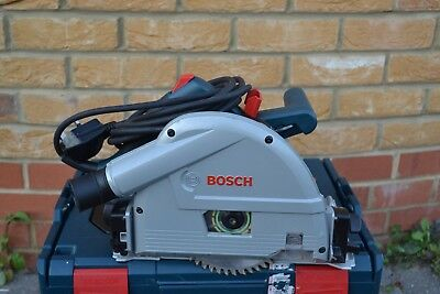 Bosch GKT55GCE 165mm Plunge Saw 1400W in L-Boxx3 ,240V (made in  Germany)