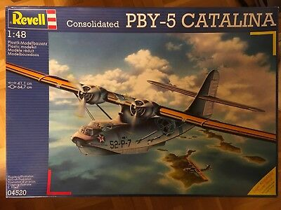 Consolidated PBY-5 CATALINA in 1:48 von REVELL
