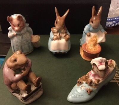 Beswick Beatrix Potter Job Lot All In Perfect Condition