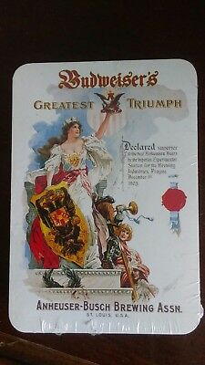 Budweiser Greatest Triumph Playing Cards Mip