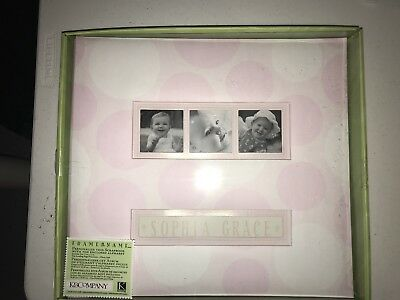 baby girl scrapbook album