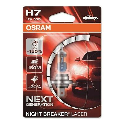 Osram Night Breaker® Laser H7 Next Generation Halogen Scheinwerferlampe 12V