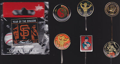 Bruce Lee Pin Collection