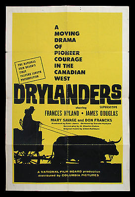 DRYLANDERS original movie poster NFB National Film Board