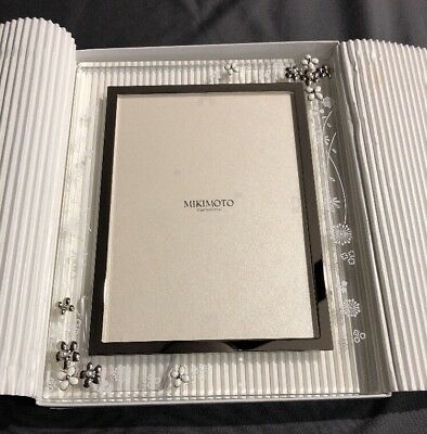 MIKIMOTO INTERNATIONAL. PHOTO Frame Stand. Flower. Picture. Japan ...