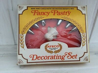 vintage 1970's american ATECO iceing set