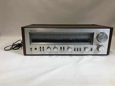 Vintage Technics SA-404 AM/FM Stereo Receiver, Great Condition