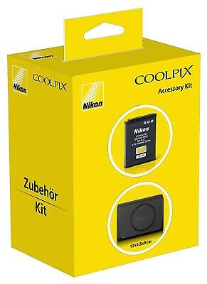 NEW SEALED NIKON S9900 Accessory Kit EN-EL12 Battery COOLPIX Camera Case Bag