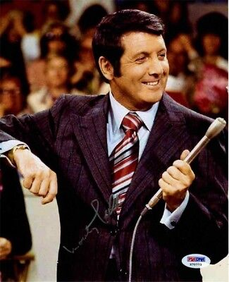 Monty Hall Lets Make a Deal Autographed Signed 8x10 Photo Certified PSA/DNA COA