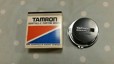Tamron Adaptall 2 Lens Mount Adapter Nikon Ai fit with Caps Exc+ / Nr Mint Cond.