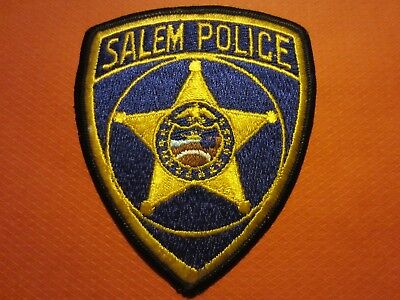 Collectible Oregon Police Patch, Salem, Capital City New