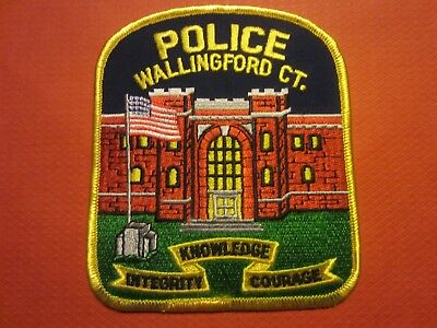 Collectible Connecticut Police Patch, Wallingford, New
