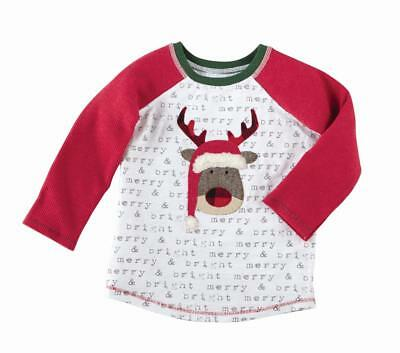 Mud Pie Baby Boys Alpine Village Collection Christmas Tree Pajamas PJs 1012195
