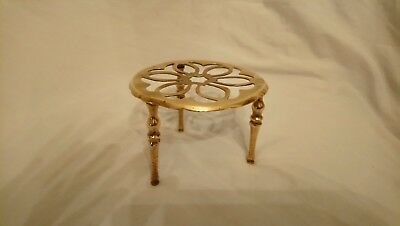 Victorian / Late 19th Century Brass Trivet