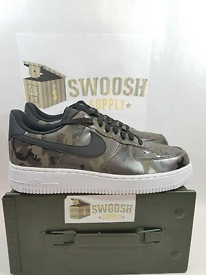Nike Air Force 1 '07 LV8 Reflective Camo Olive 823511 201 Men's Size 9