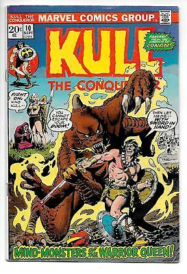 Kull The Conqueror #10 (Marvel, 1972) VG/FN