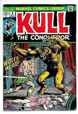 Kull The Conqueror #8 (Marvel, 1972) VG/FN