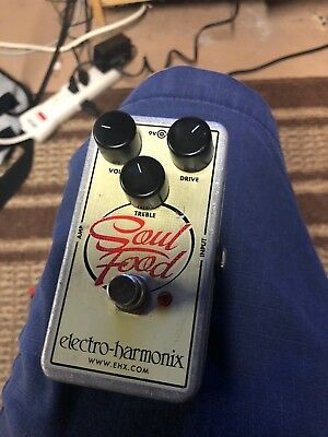 Electro-Harmonix Soul Food Distortion Guitar Effect Pedal