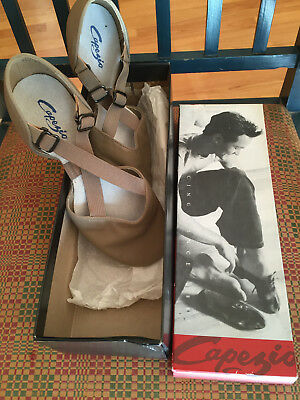 NEW in Box CAPEZIO Women's Sz 7.5 X-Trap Pedini JAZZ Dance Shoes